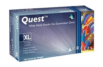 Quest Nitrile Gloves