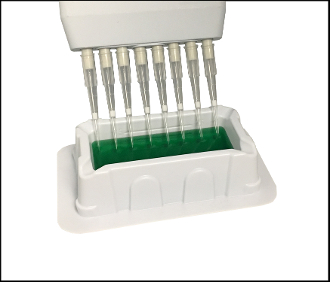 ASPIR-8™, 25ml reservoir for 8-channel pipettes